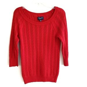 American Eagle Outfitters Sweater Scoop Neck
